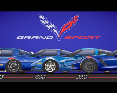 Framed Grand Sport Generations Print