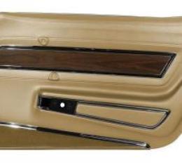 Corvette America 1970-1976 Chevrolet Corvette Door Panel Deluxe RH