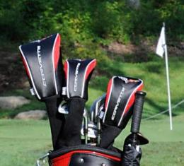 Corvette Headcover Set, 3 Piece, with Embroidered Logo