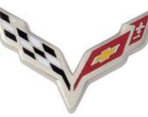 Corvette Lapel Pin, 7th Generation Corvette Logo, 2014-2015