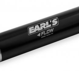 Earl's Performance HP Billet Aluminum In-Line Fuel Filter 230633ERL