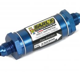Earl's Performance Aluminum In-Line Oil Filter 230306ERL