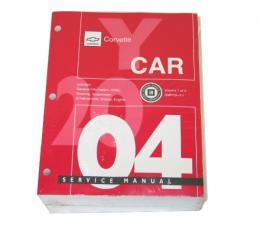 Corvette Service Manual, 2004