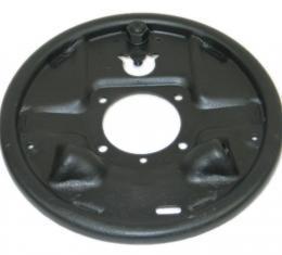 Corvette Brake Drum Backing Plate, Left Rear, USED 1957-1962