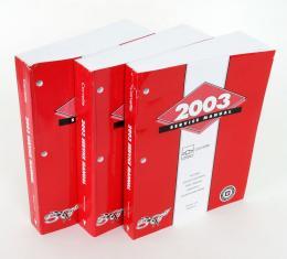 Corvette Service Manual, 2003