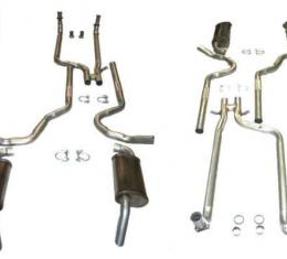 Corvette Dual Exhaust System with Magnaflow Mufflers, 1982