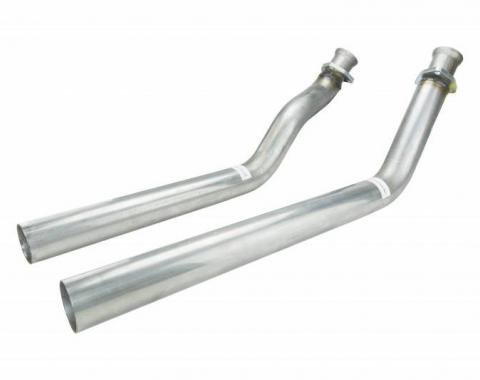 Pypes Exhaust Manifold Down Pipe 64-81 Chevy Small Block 3 Bolt Hardware Not Incl Natural 409 Stainless Steel Exhaust DGU15S