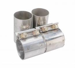 Pypes Exhaust Pipe Adapter 15-16 Mustang GT 3 in Hardware Not Included Natural 409 Stainless Steel Exhaust PVA12-3K