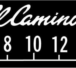 RetroSound Chevrolet El Camino Logo Screen Protector, Pkg of 3