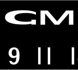 RetroSound GMC Logo Screen Protector, Pkg of 3