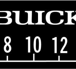 RetroSound Buick Logo Screen Protector, Pkg of 3
