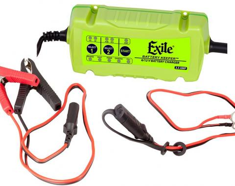 RetroSound Exile Battery Keeper and LED Battery Monitor Bundle