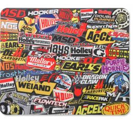 Holley Sticker Bomb Mouse Pad 36-447