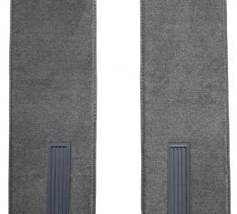ACC  Chevrolet C20 Pickup Reg Cab Inserts on Cardboard w/Vents Door Panel 2pc Loop Carpet, 1973