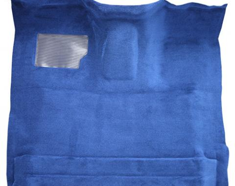 Ford F-150 Reg Cab 4WD Automatic Gas or Diesel Cutpile Carpet with Mass Backing, Gray/Oyster, 1987-1996