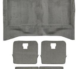 ACC  Ford Mustang Hatchback Complete Cutpile Carpet, 1984-1986