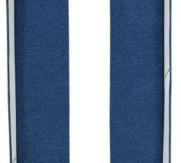 ACC  Chevrolet Impala Door Panel 2DR Inserts 2pc Tuxedo Carpet, 1961-1962