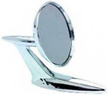 OER 1959-60 Impala, Bel Air, Biscayne, Outer Door Mirror, Chrome, with Hardware B9062