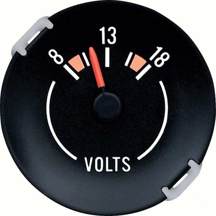 1976-1978 Camaro Volt Gauge For Dash Factory Gauges GM 6474343