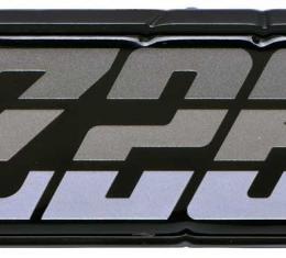 """OER 1980-81 Camaro """"Z28"""" Charcoal Fuel Door Emblem 9637804"""
