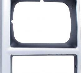 OER 1989-91 Chevrolet Pickup, Blazer, Suburban R/V , Headlamp Bezel, w/Single Headlamp, Passenger Side T70558