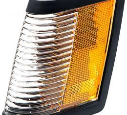 OER 1984-87 Buick Regal / Grand National - Front Side Marker/Corner Lamp with Black Bezel, LH 919873