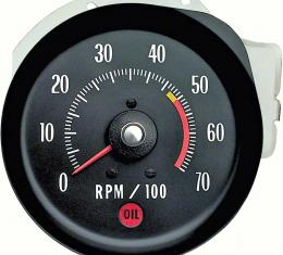 OER 1971-72 Chevelle/Monte Carlo Tachometer 5000 RPM Red Line 5657405