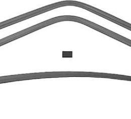 OER 1968-70 GTX / Road Runner / Satellite 4 Piece Interior Rear Window Trim Set *MB1510
