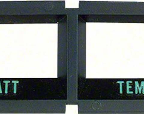 OER 1968-76 Console Battery/Temperature Gauge Bezel 6480881