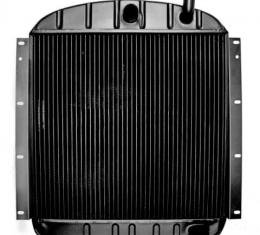 """OER 1955-59 GMC Truck with Pontiac V8 and AT 3 Row Copper/Brass Radiator (22-3/8"""" x 23-1/2"""" x 2"""") CRD1954A"""