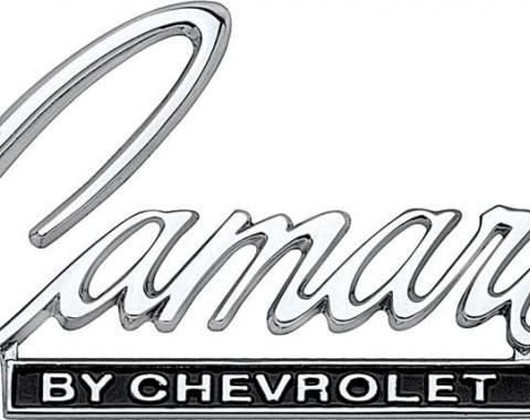 "OER 1968-69 ""Camaro By Chevrolet"" Header / Rear Deck Emblem 3916654"