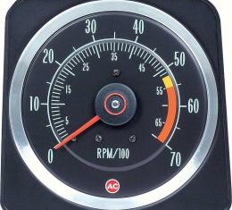 """OER 1969 Camaro 396/325 HP, 396/350 HP 5"""" X 7"""" Tach with 5500 Red Line 6469382"""