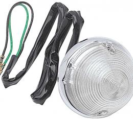 OER 1955-57 Pickup Park Lamp Assembly with Clear Lens CT23634