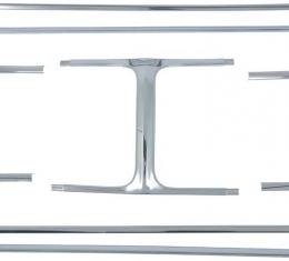 OER 1969 Dodge Charger 7 Piece Grill Molding Set MB2173