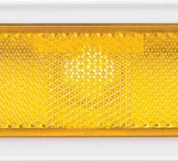 OER 1970-74 Nova Front Side Marker Lamp Pair (Amber) 911283