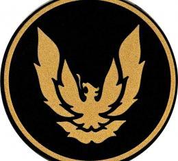 "OER 1982-92 Firebird GTA Wheel Cap Emblem Gold/Black 2-1/8"" diameter 10030413"