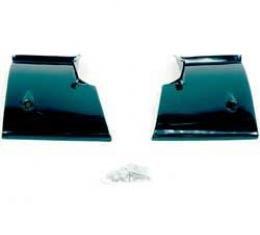 OER 1968-72 Nova Rear Window Lower Corner Moldings-Pair K916