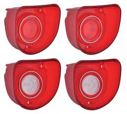 OER 1968 Impala and Bel Air Tail Lamp and Back-Up Lens Set *881288