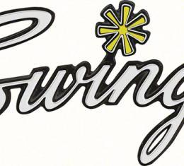"OER 1970 Dart ""Swinger"" Trunk Emblem 3446102"