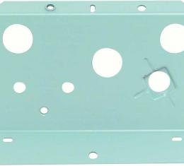 OER 1968-76 Console Front Fuel/Oil Gauge Mounting Plate 6480878