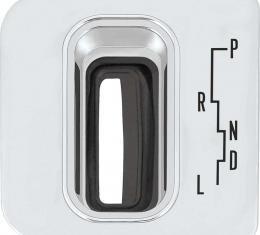 OER 1963 Impala SS Powerglide Transmission Console Shift Plate 3830456
