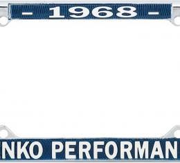 OER 1968 Yenko Performance License Frame YF1968