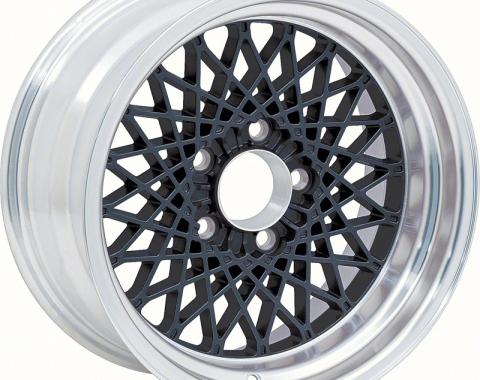 """OER 16"""" X 8"""" Black GTA Style Alloy Wheel with 4-3/4"""" Backspacing and 0mm Offset 10104410"""