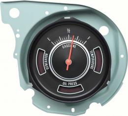 OER 1969 Chevelle Fuel Gauge With Warning Lights 6431251