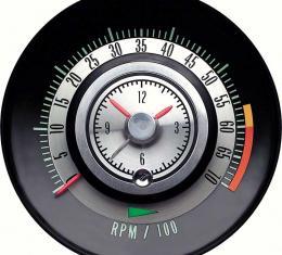 OER 1968 Camaro 6000 Red Line Tic-Toc-Tach 6468715