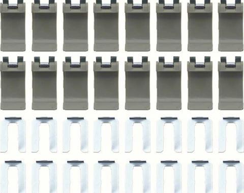 OER 1967-69 Convertible Top Boot Clip Set (16) K52010