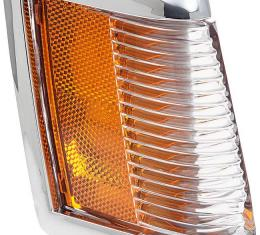 OER 1985-87 Buick Regal / Grand National Front Side Marker/Corner Lamp with Chrome Bezel, RH 5974210