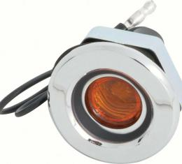 OER 1968 Dodge Dart / Charger Curved Style Front Side Marker Lamp MD2054A