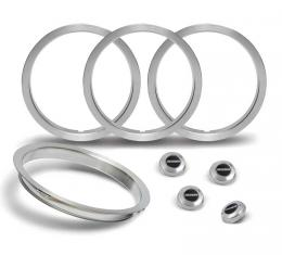 OER 1979-81 Camaro Z28 5-Spoke Wheel Center Cap And Trim Ring Set *881228