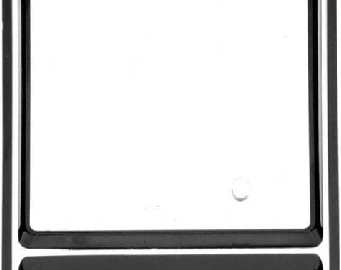 OER 1969 Camaro Center Dash Clock Bezel and Lens 3943616